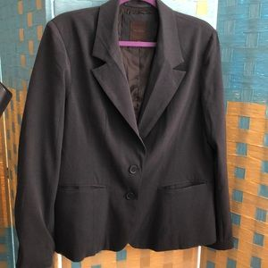 The Limited gray lined blazer 14
